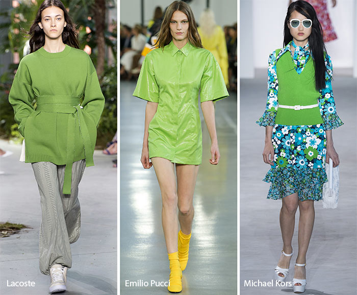 Greenery On The Catwalk